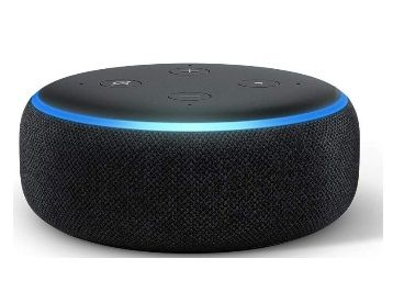 Flat 46% off on Echo Dot (3rd Gen) New and improved smart speaker with Alexa (Black)